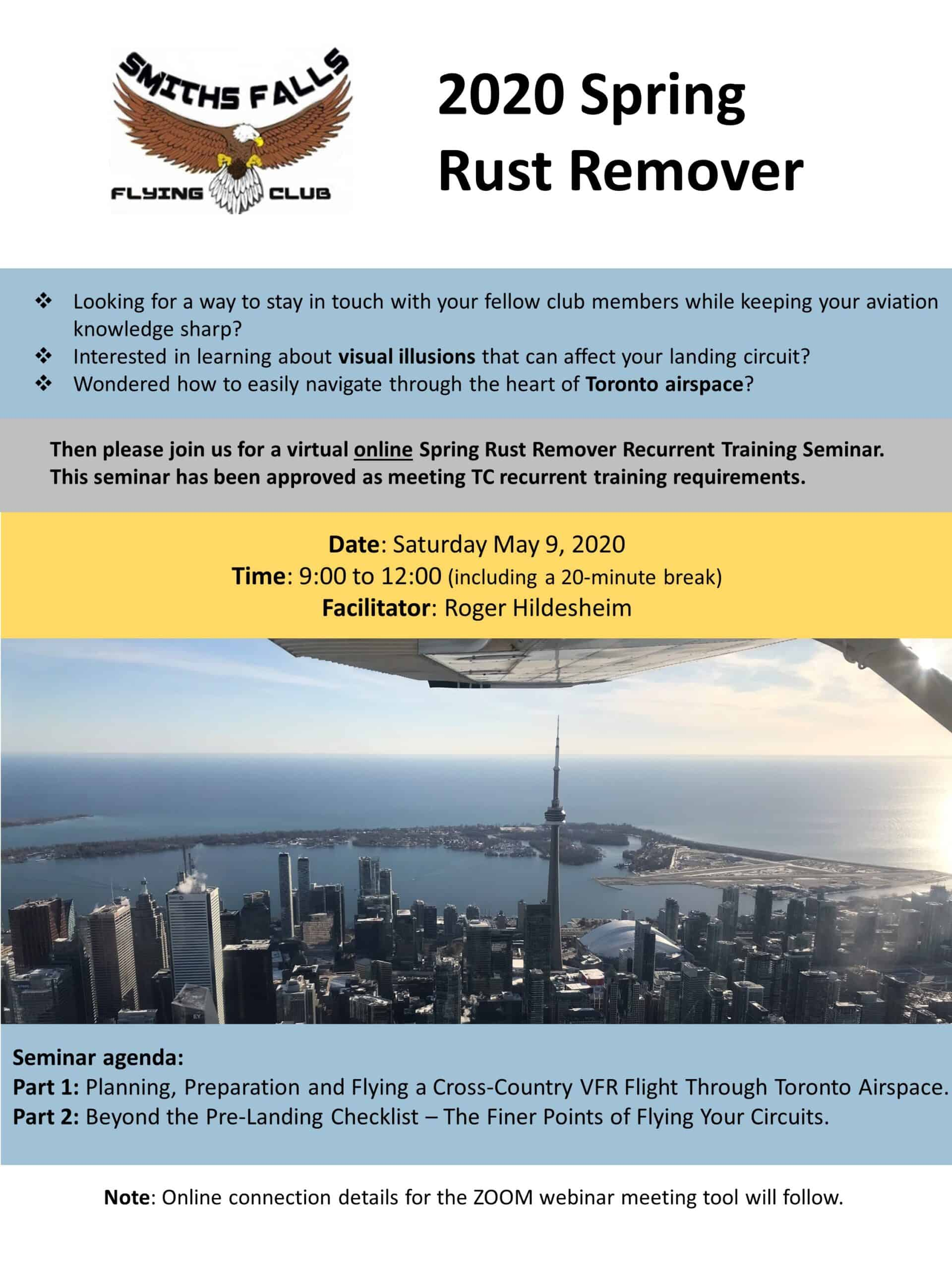 SFFC 2020 Spring Rust Remover